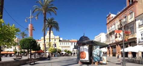Mérida's Plaza de España