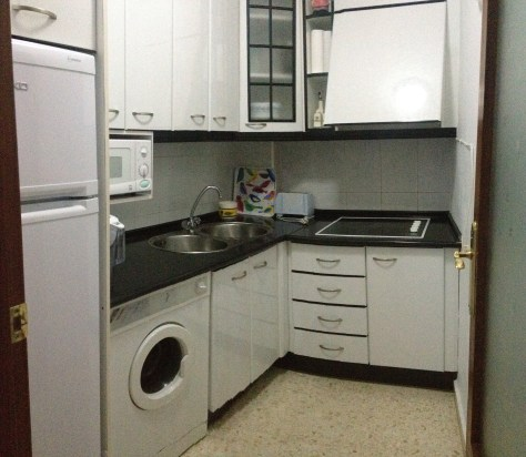 kitchen in the Apartamentos en Merida
