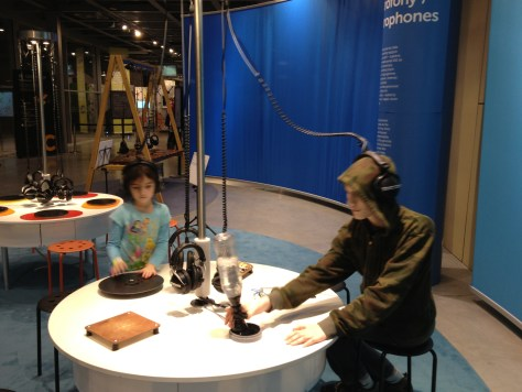 making music at the Copernicus Science Centre in Warsaw, Poland