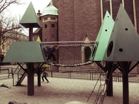 playground in Copenhagen, Denmark, courtesy of Terumi from An Emerald City Life