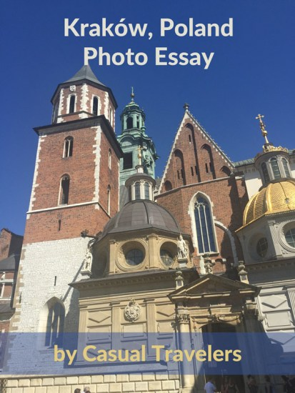 the Wawel Cathedral up close