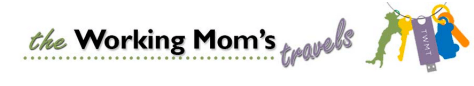 The Working Mom's Travels blog logo