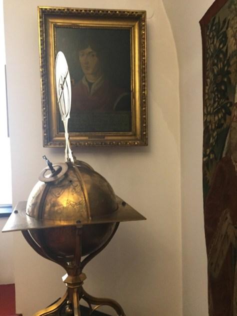 Celestial Globe in Copernicus Room
