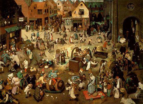 Pieter Bruegel the Elder, The Fight between Carnival and Lent