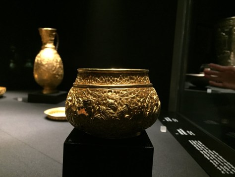 gold bowl from the collection of cold objects discovered near Nagyszentmiklós