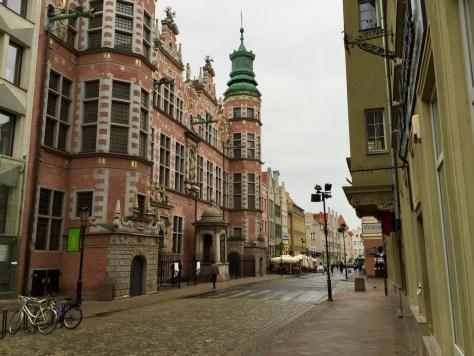 Wielka Zbrojownia (Great Armory) on the corner of Tkacka and Piwna Streets in Gdańsk, Poland