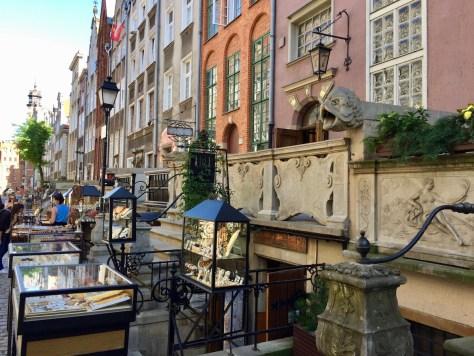 Mariacka Street in Gdańsk, Poland