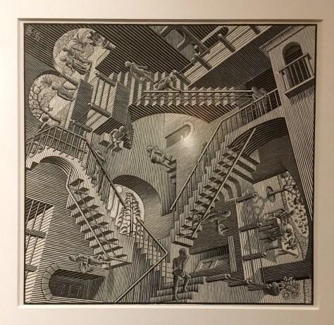 M.C. Escher's Relativity