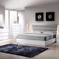 White Lacquer Bedroom Sets. chrome bedroom set. white ...