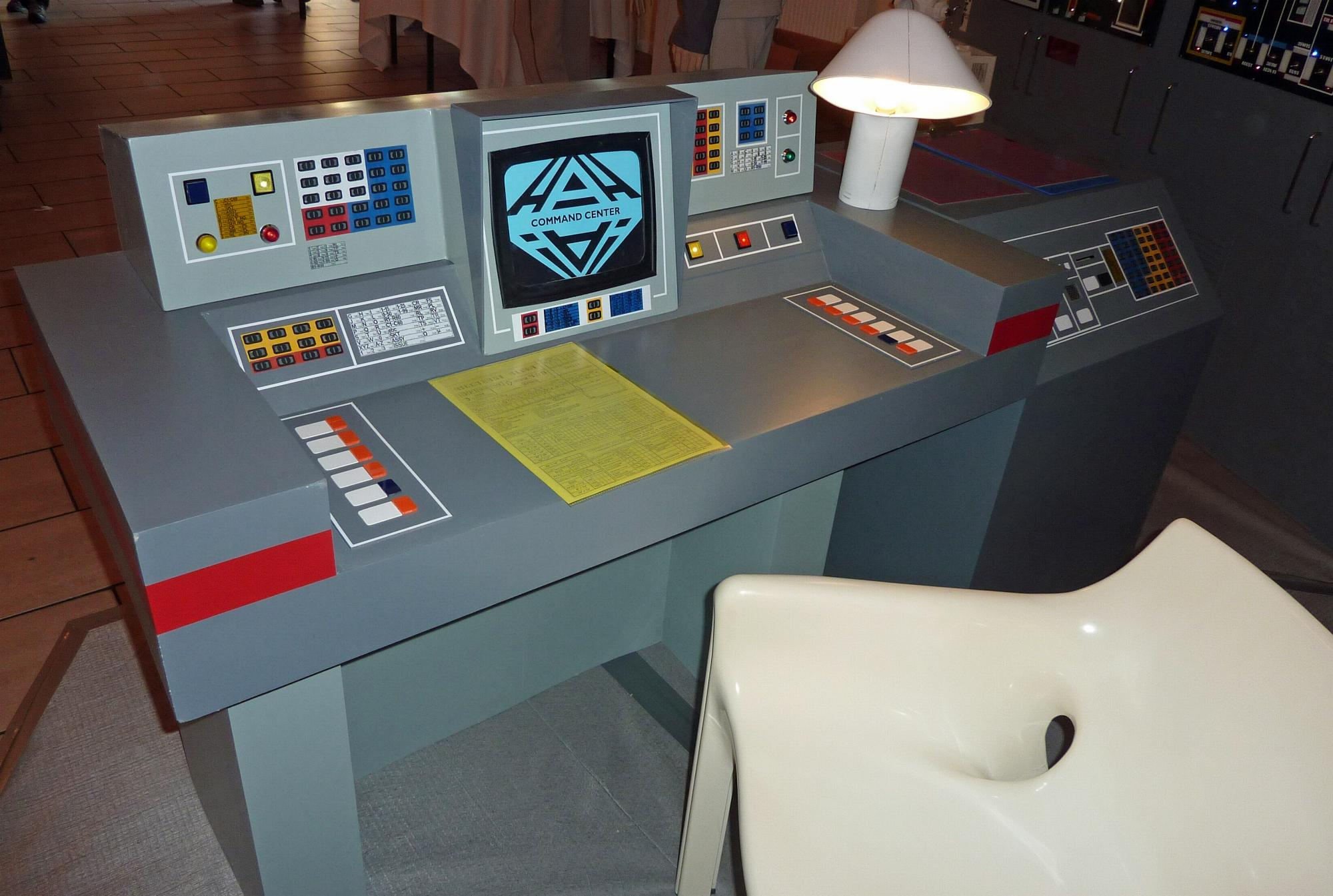 Joe Colombo Space 1999 Command Center Replica