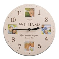 Personalized Desk Clocks - Engraved Clocks