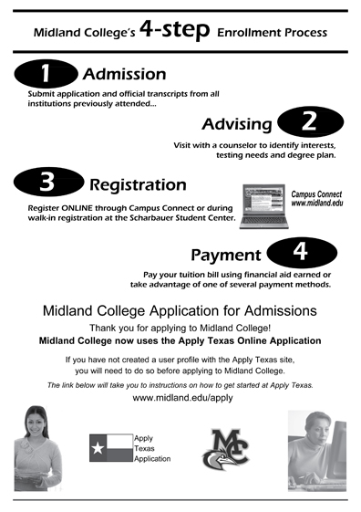 Admissions and Registration - Midland College - Acalog ACMS™