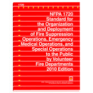 NFPA 1720: Standard for the Organization and Deployment of Fire