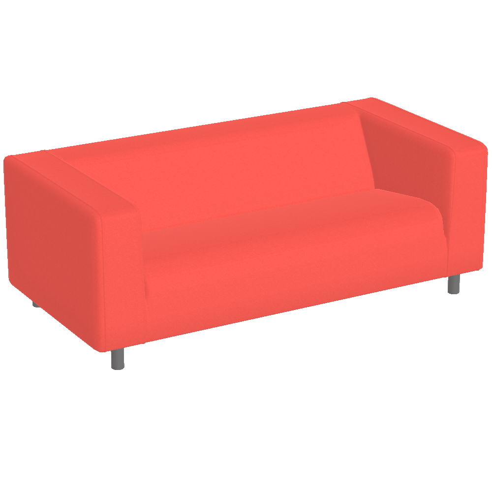 Ikea Sofa Klippan Klippan Sofa Red