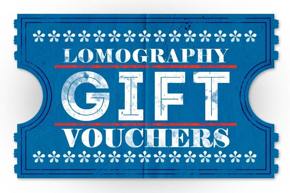 Tarjetas Regalo para Tienda Online · Tienda Lomography