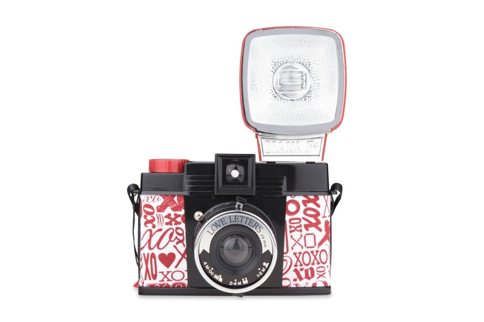 Diana F Kamera Diana F+ Camera And Flash (love Letters Edition