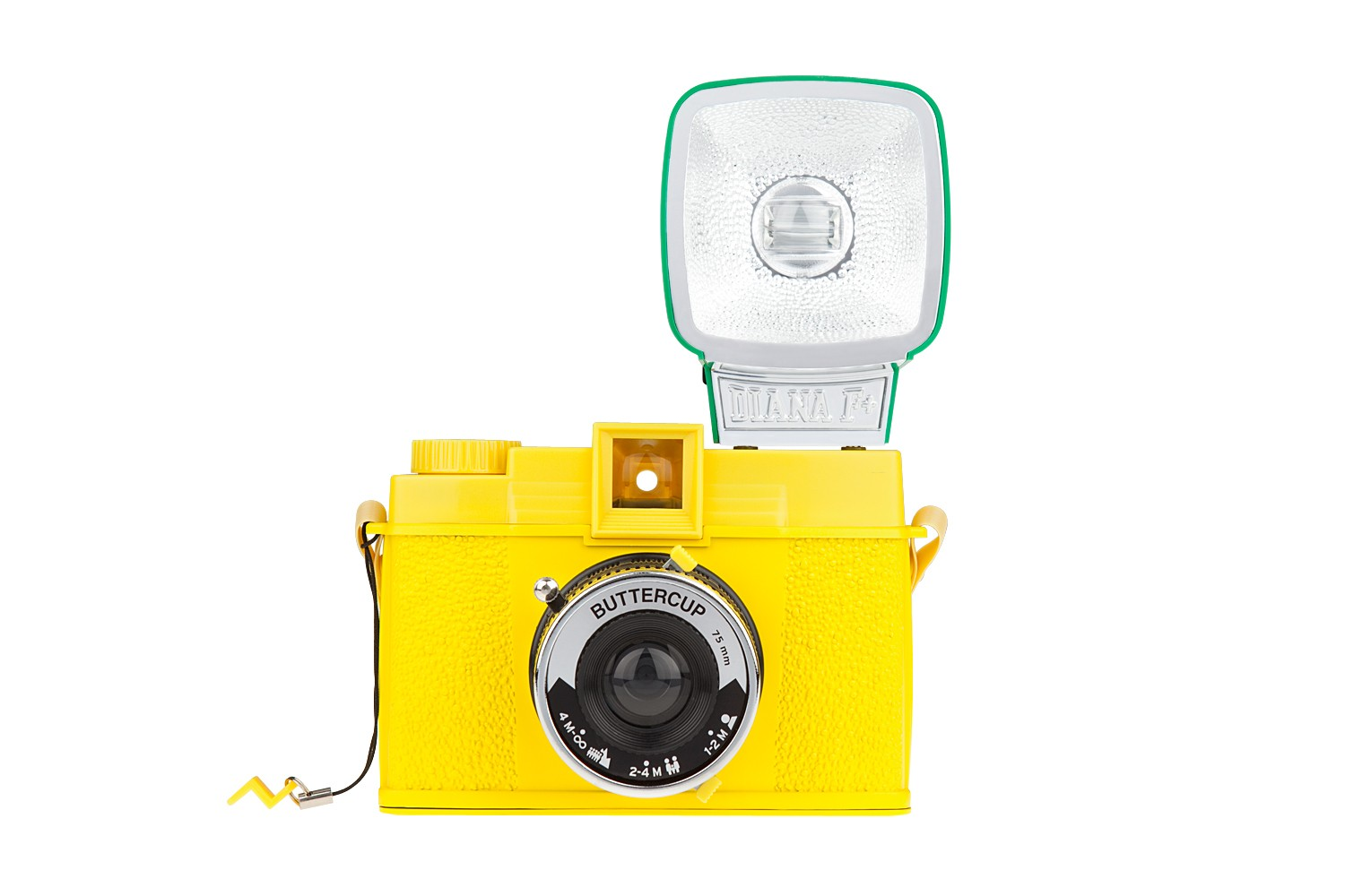 Diana F Kamera Diana F+ Camera And Flash (buttercup Edition) · Lomography
