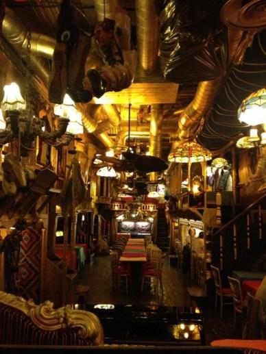 sarastro geral restaurantes em Londres de decoração peculiar