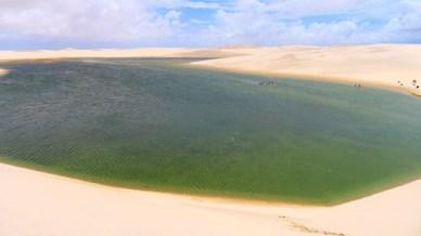 Lagoa do Peixe Lençois maranhenses 2