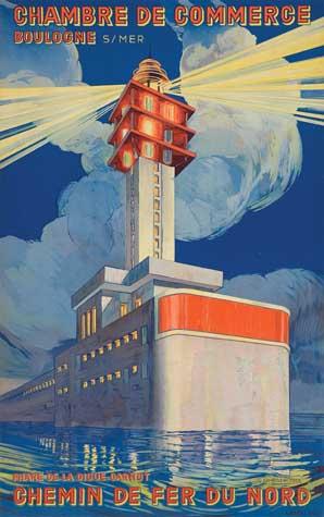 Auktion - Vintage Posters am 06082008 - LotSearchde - Chambre Des Metiers Boulogne Sur Mer