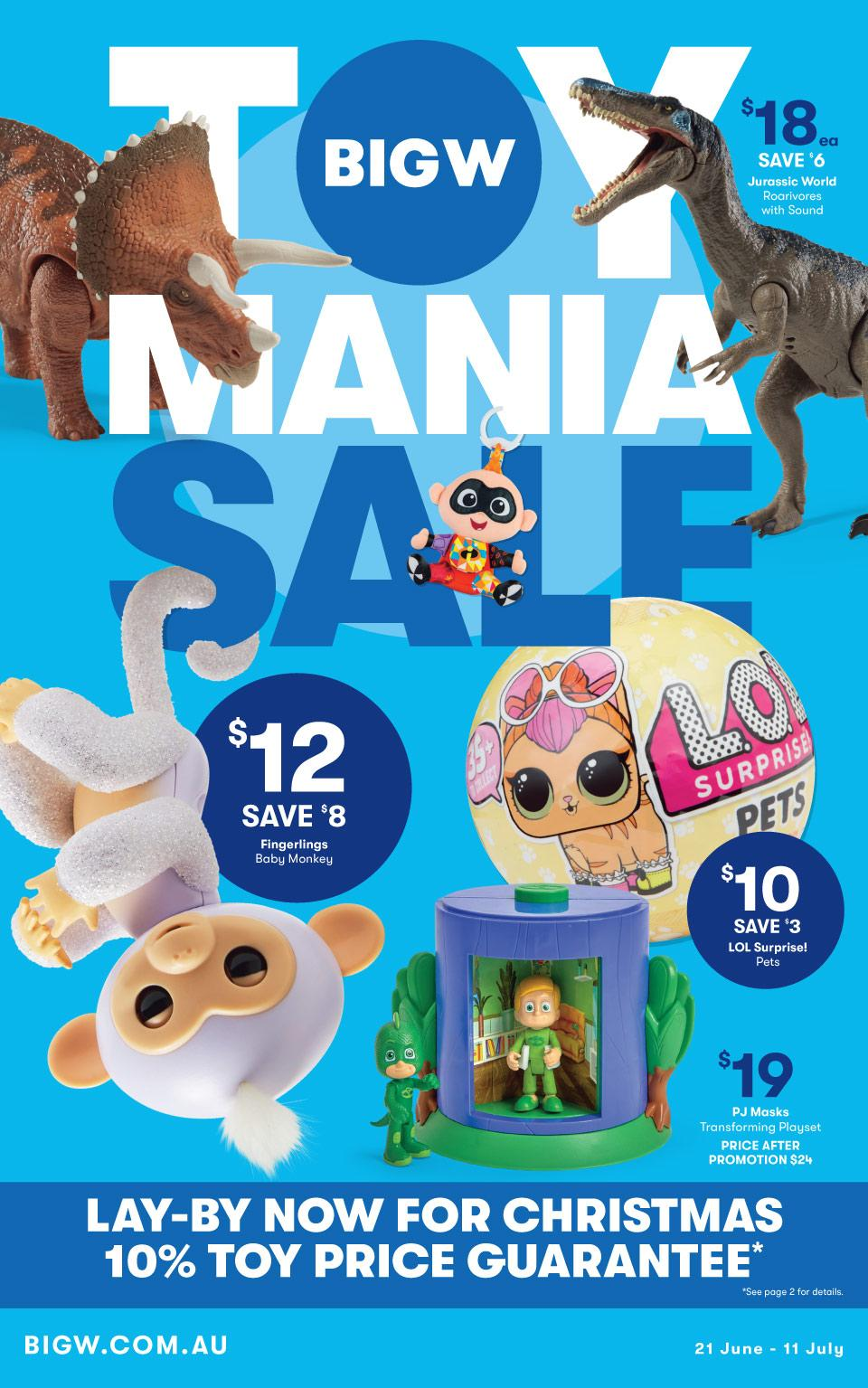 Big W Toys Catalogue Big W Catalogue 21 Jun 11 Jul 2018