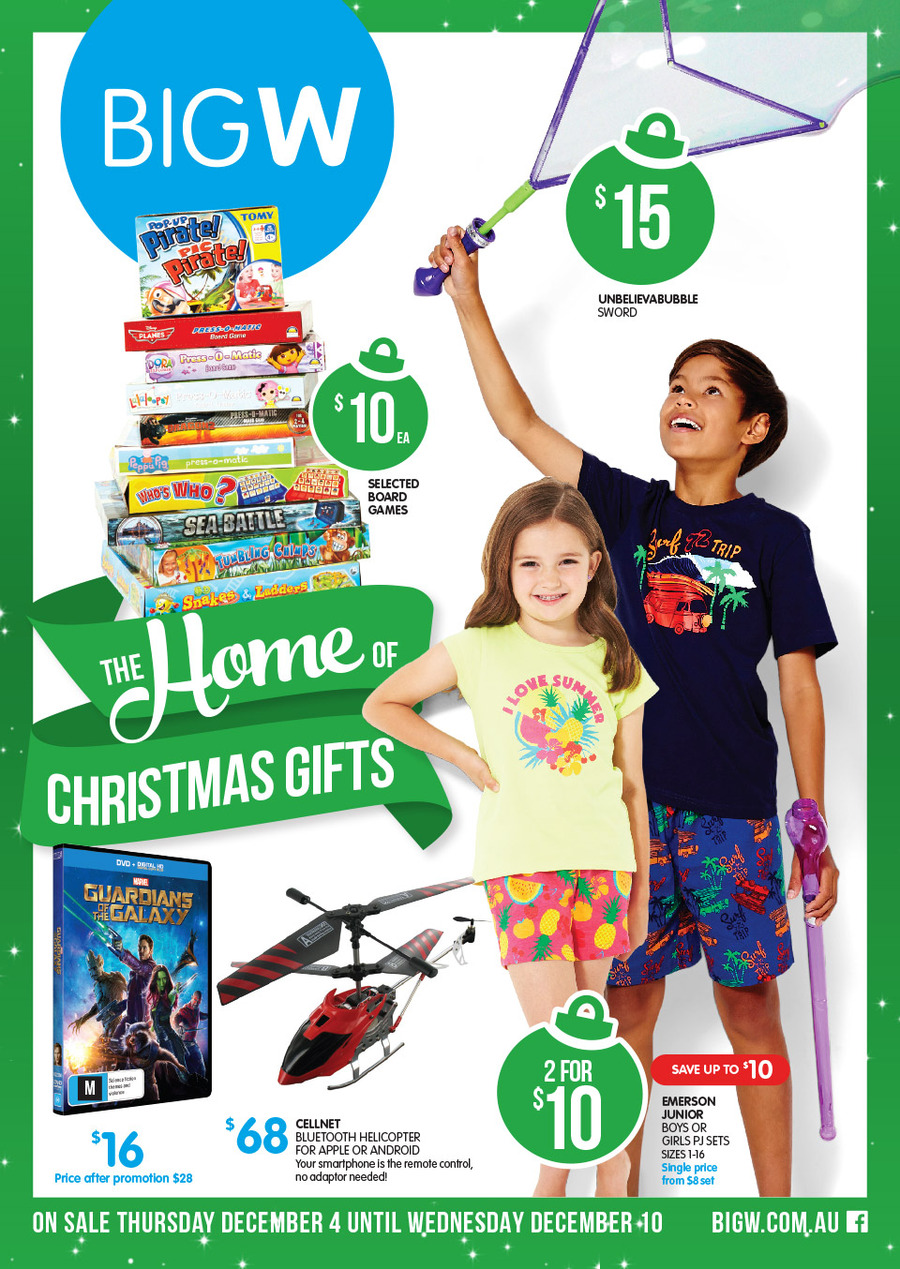 Big W Toys Catalogue Big W Christmas Gifts Catalogue December 2014