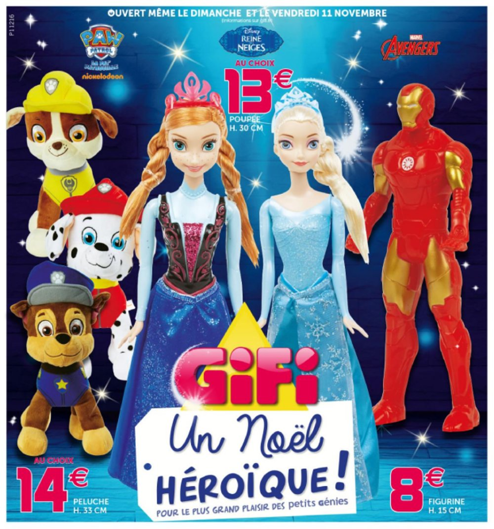 Gifi Reine Des Neiges Catalogue Gifi Noël 2016 Catalogue De Jouets