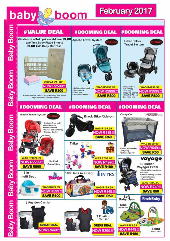 Baby Cots Game Baby Boom Specials 1 February 28 February 2017