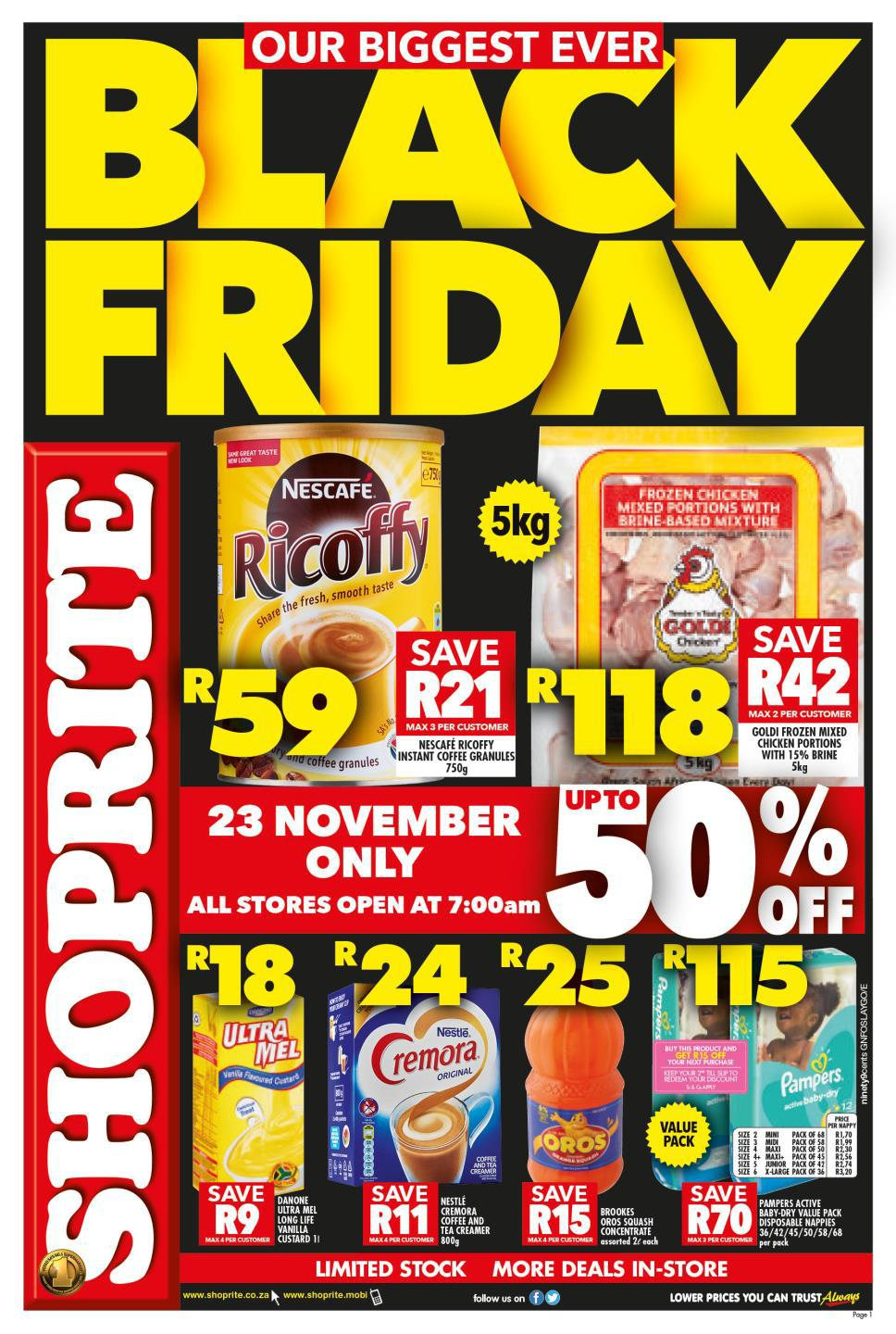 Black Friday Specials Shoprite Black Friday 2018 Deals Specials