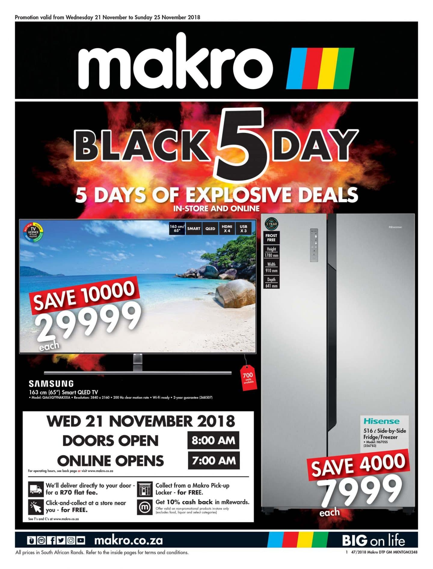 Black Friday Specials Makro Black Friday Catalogue Specials 2018