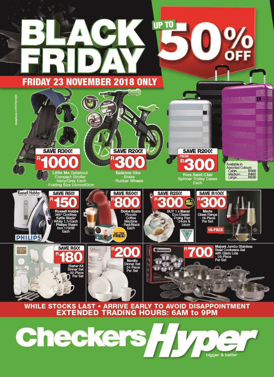 Black Friday Specials Checkers Black Friday 2018 Catalogue Specials