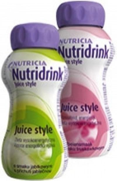 Nutricia Nutridrink Juice Style - Catalogus - Pagina
