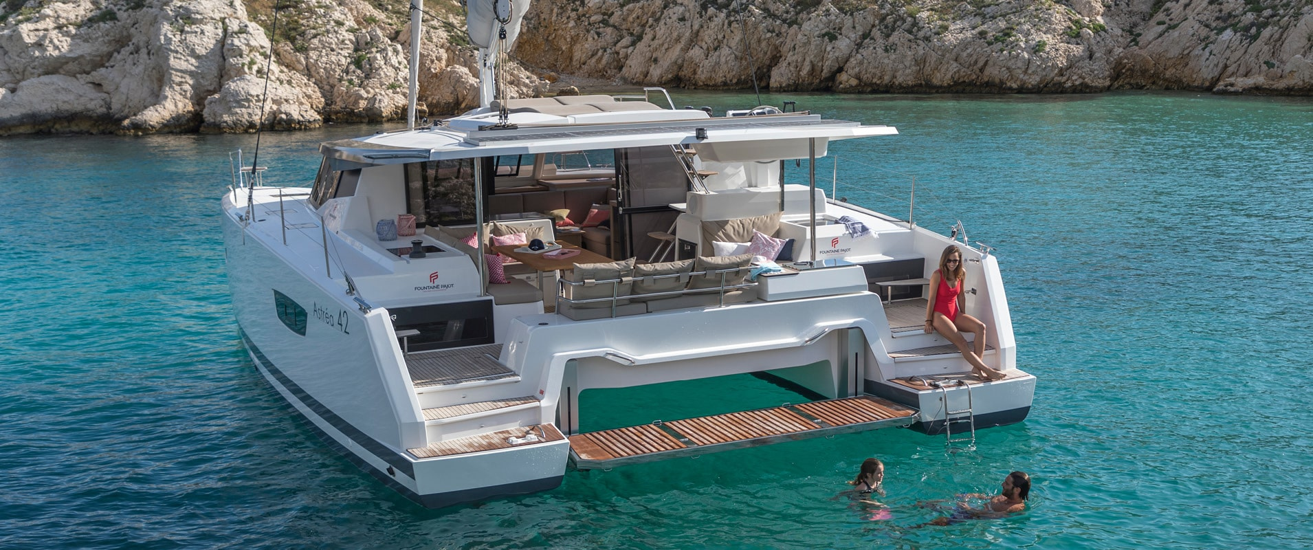 Yacht Badezimmer Astréa 42 The New Flagships Signed Fountaine Pajot