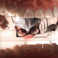 Sessão psicodélica no dentista