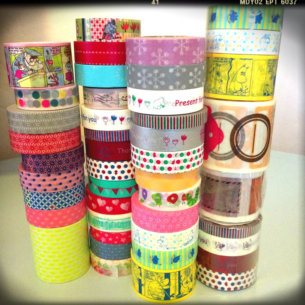 Washi Tale Tea Lightful Washi Tapes Catastrophic Findings