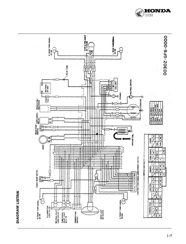 wiring diagram honda win