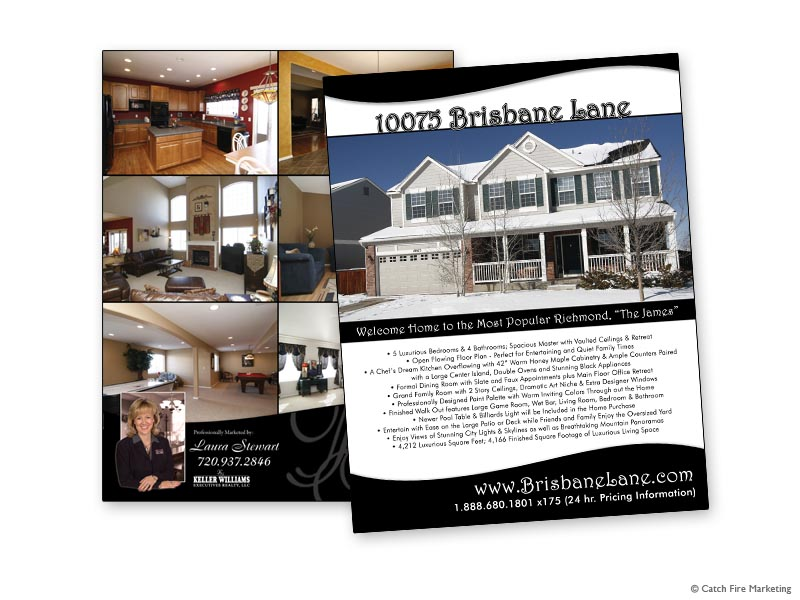 Real Estate Brochures and Flyers -