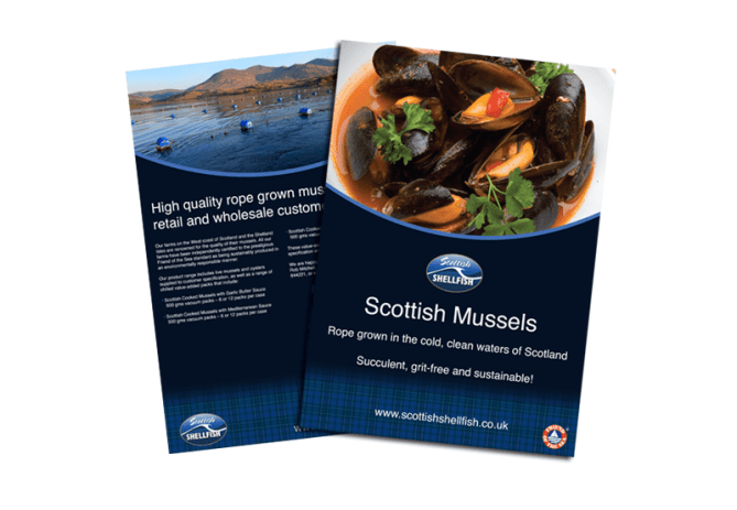 Scottish Shellfish leaflet