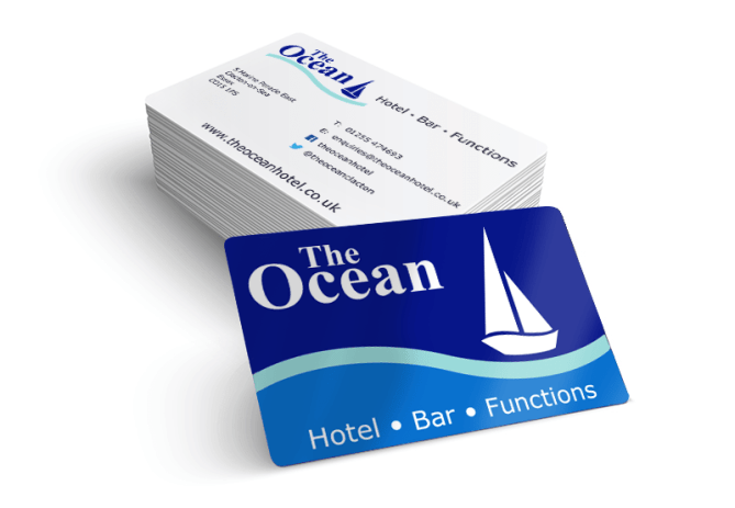 The Ocean business cards