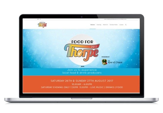 Food For Thorpe Website 2017