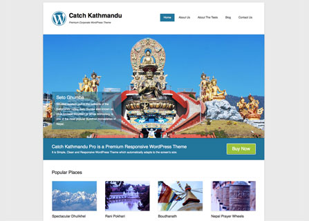 Catch Kathmandu Theme