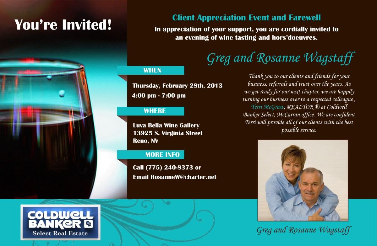 client appreciation event invitation