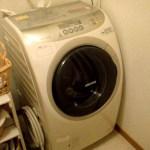 洗濯機来る
