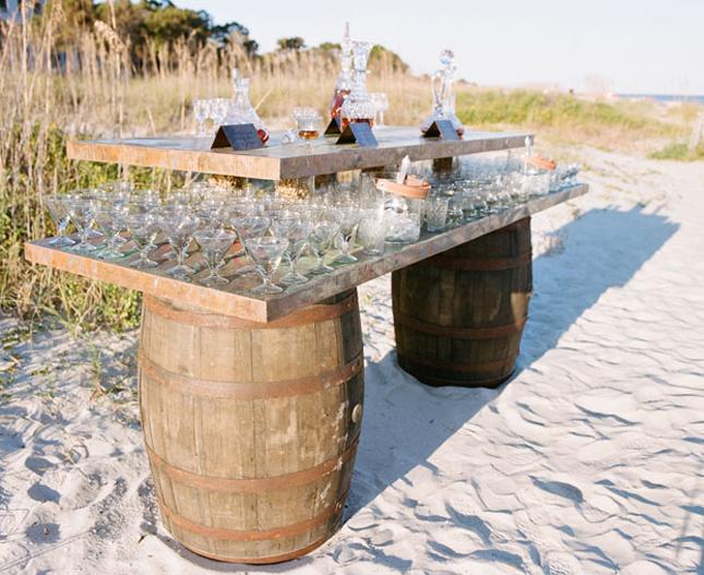 7 DIY Drink Bars Ideas for Wedding Reception