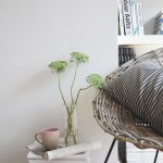 Bringing the outdoors in with rattan chairs