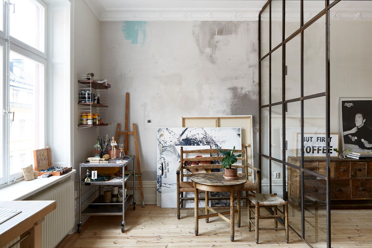 I wish I lived here: the loft-style home of an artist