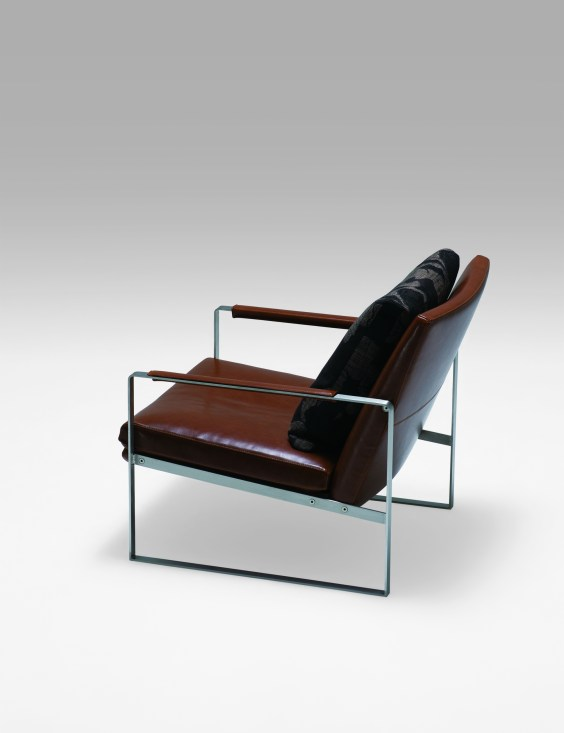 Camerich leather lounge chair
