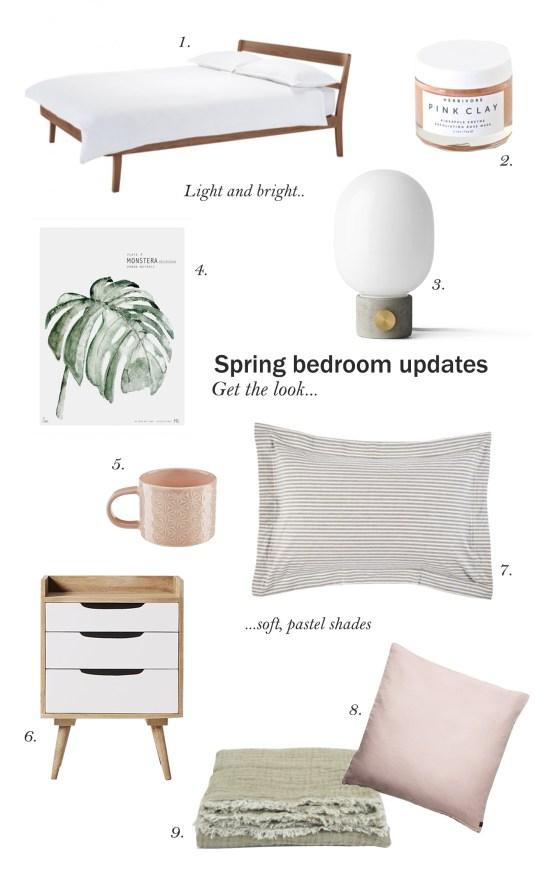 Get the look: Spring bedroom