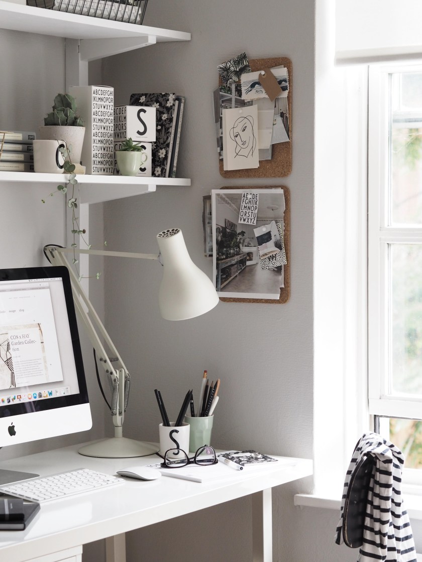 Summer workspace with Design Letters