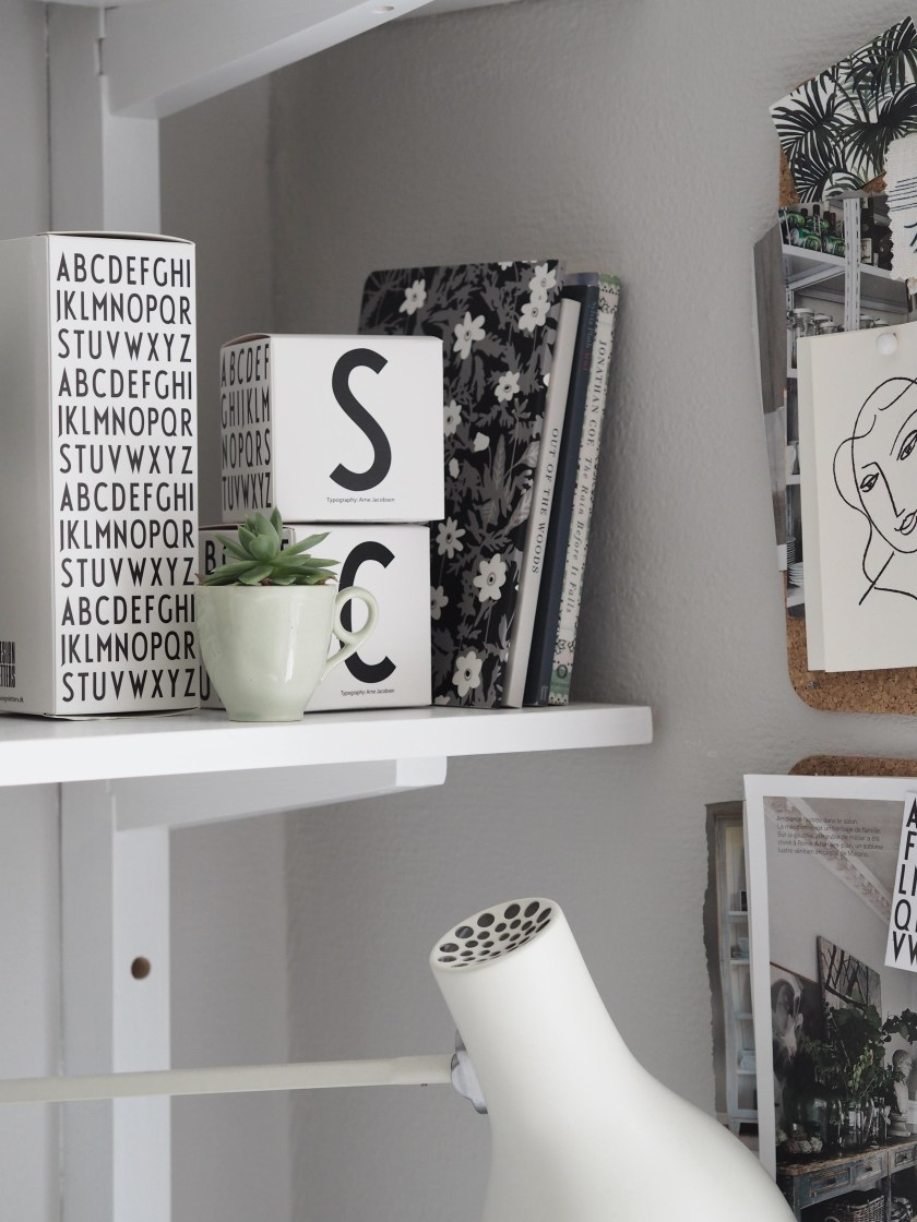 A summer workspace with Design Letters